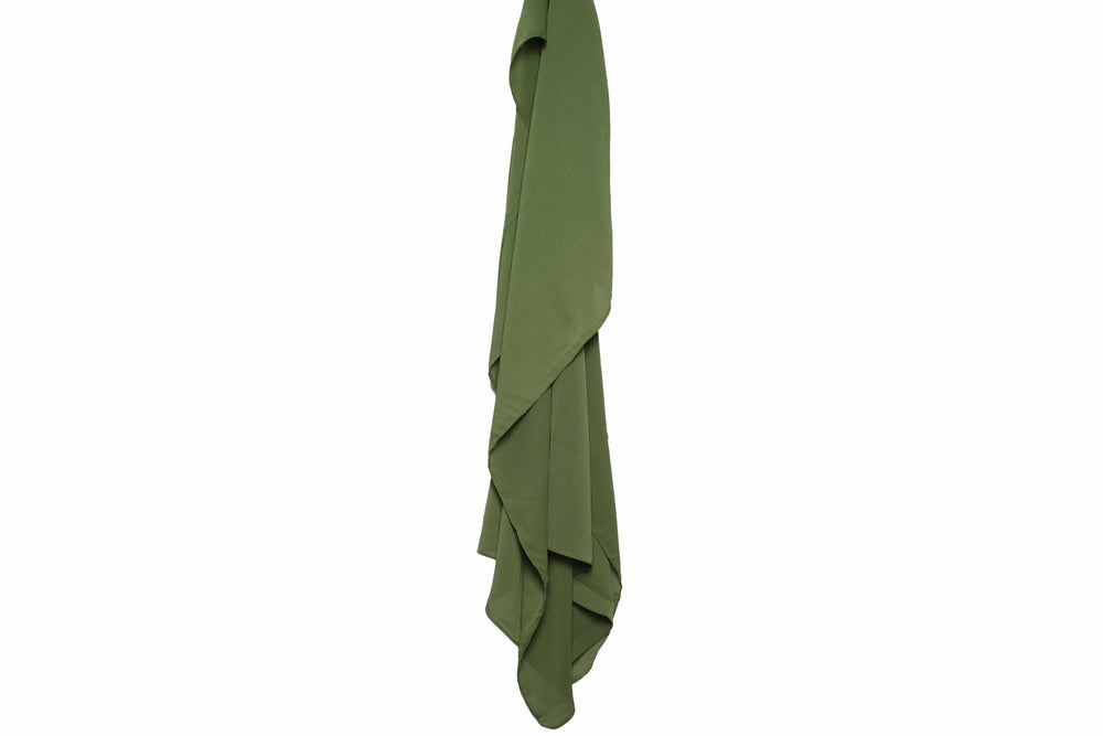 Army Green x Wrinkle Chiffon