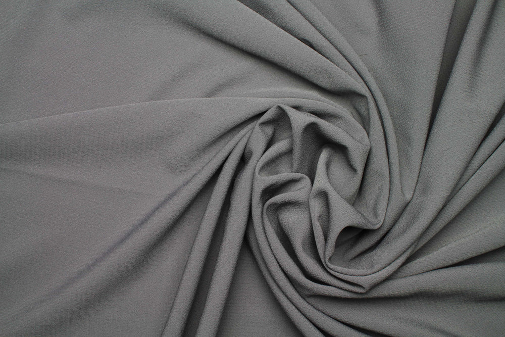 Dusty Grey x Rich Chiffon - HS ABAYA