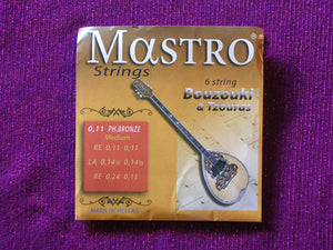 BOUZOUKI 6 OR TSOURAS STRINGS SET