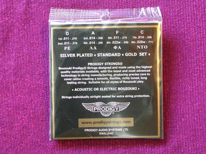 PRODIGY GOLD BOUZOUKI 8 STRINGS SET
