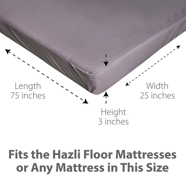 Single Waterproof Folding Mattress Cover - 75