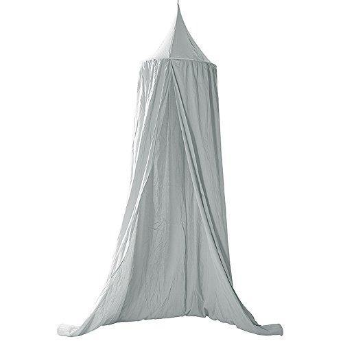 Mosquito Net Canopy, Cotton Canvas Dome Princess Bed Canopy Kids Play Tent