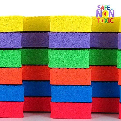 NON-TOXIC Extra Thick 9 Piece Children Play & Exercise Mat