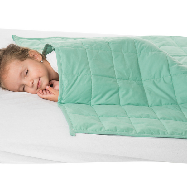 "WATERPROOF Weighted Blanket for Kids – 5 Lb 36"" x 48"" Children Waterproof Blanket"
