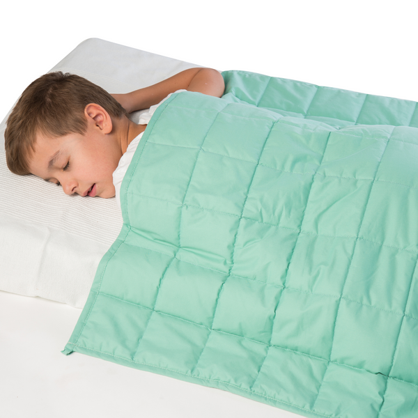"WATERPROOF Weighted Cotton Blanket for children – 7lb 41"" x 60"""