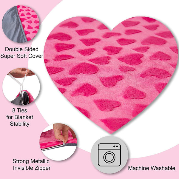 Double Sided Kids Duvet Cover for Weighted Blanket - 41