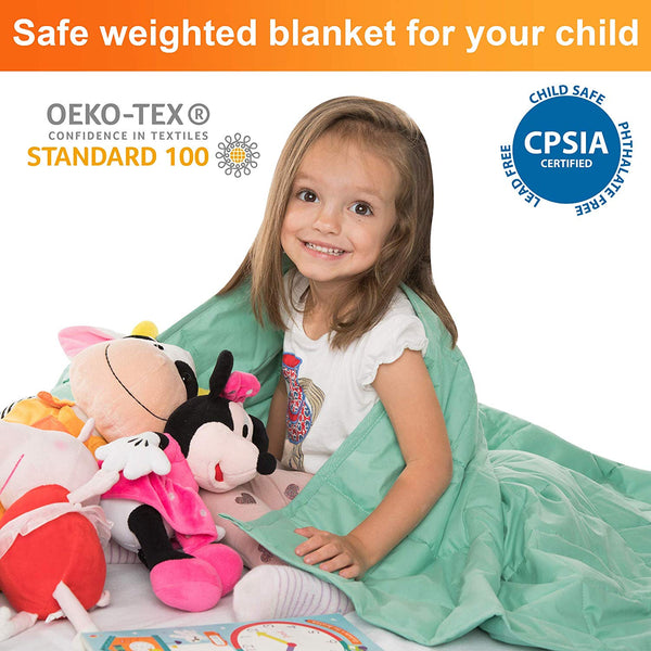 WATERPROOF Weighted Blanket for Kids – 5 Lb 36