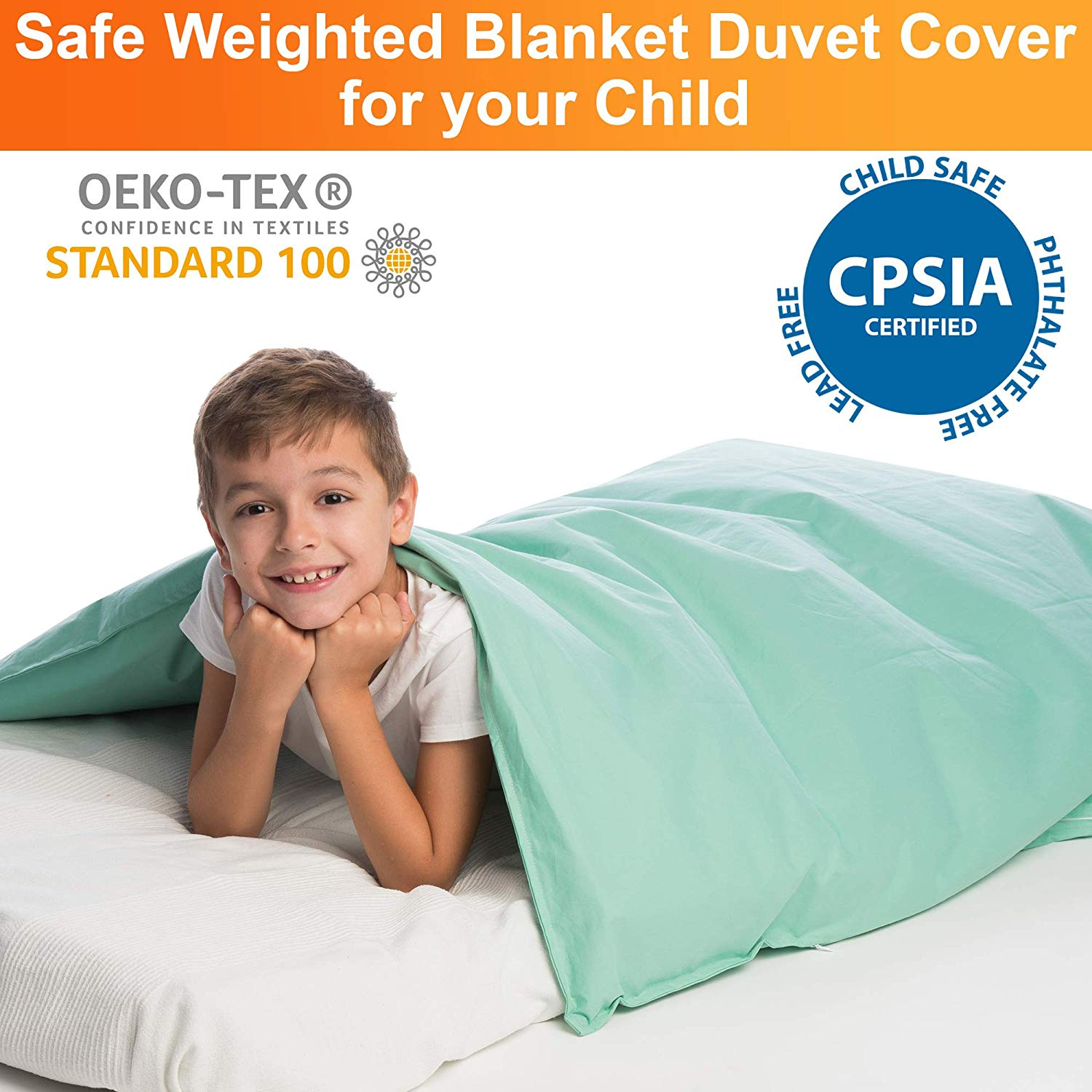Waterproof Duvet Cover For Kids Weighted Blankets 41 X 60 Hazli Collection