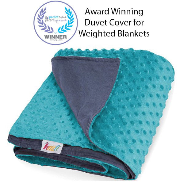 Reversible Duvet Cover for Weighted Blanket for Hot and Cold Sleepers - 48