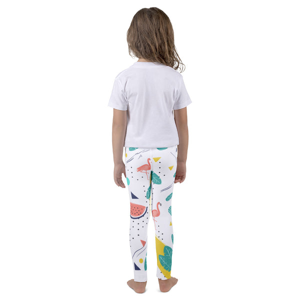 Tropical Design Girl's Leggings