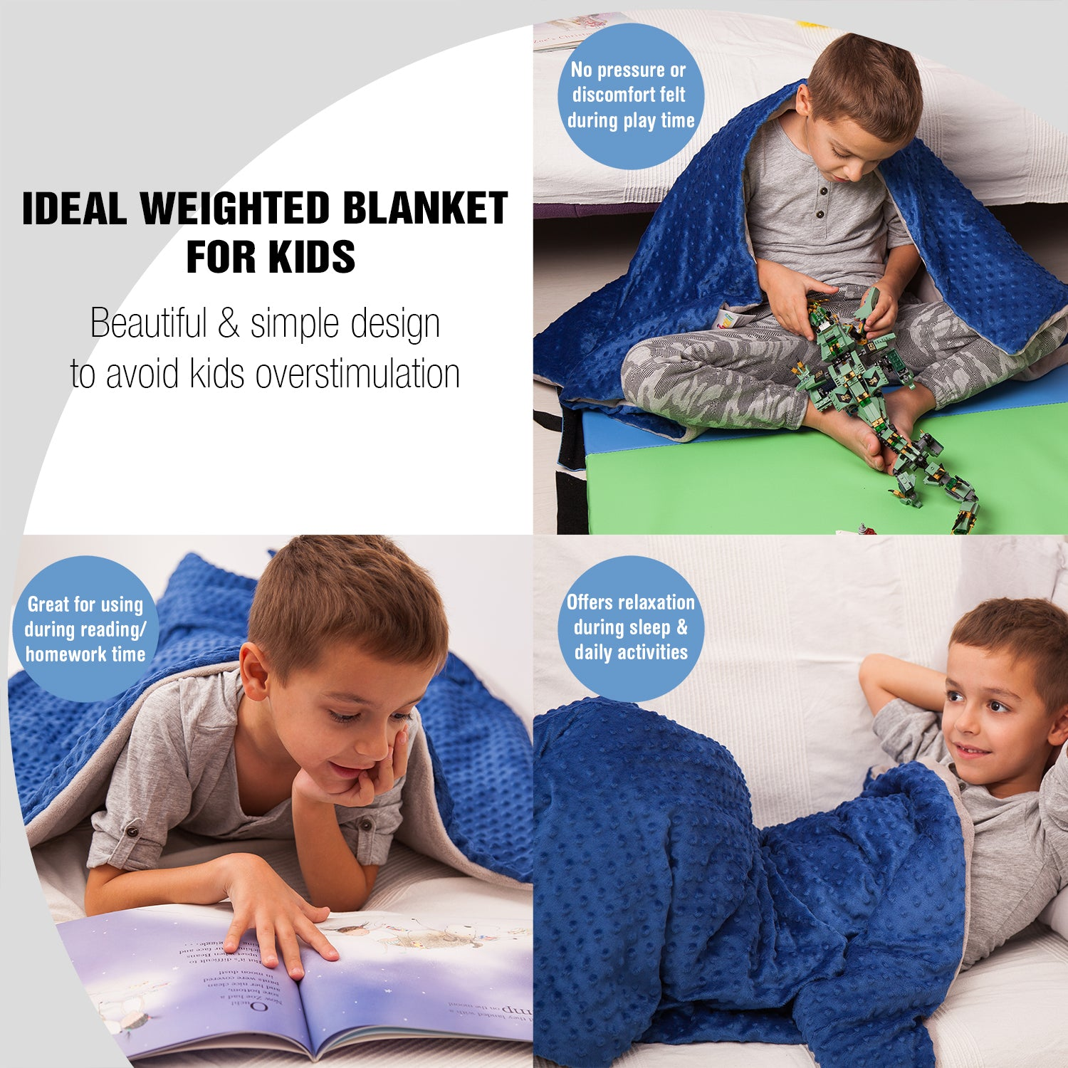 weighted blanket for boys everyday use
