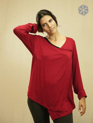 Prudence Blouse - URANTA MINDFUL CLOTHING, camisa