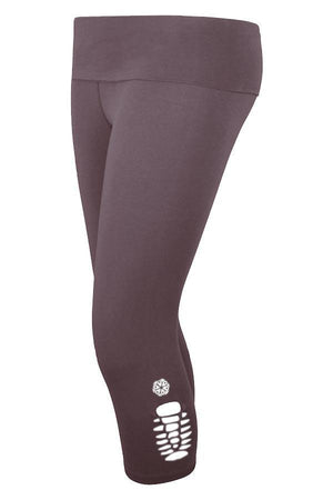 Believe Capri Leggings - URANTA MINDFUL CLOTHING, Leggings