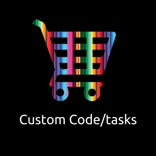 Custom Code work - Tasks