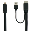 On-Lap 1305 proprietary HDMI-A and USB-A Cable (1.2m) - Beyond Geek