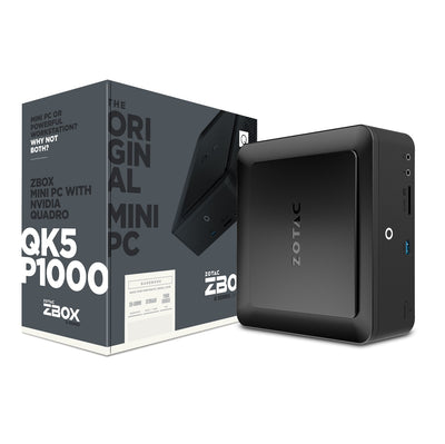 ZBOX-QK5P1000 (Bare Bone) - Beyond Geek