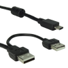 USB-A to USB-C power and touch signal cable