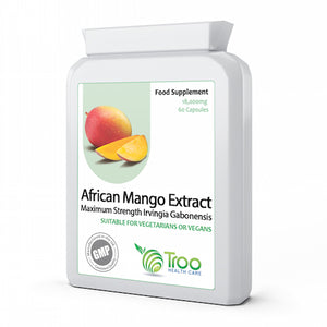 African Mango Extract 18000mg 60 Capsules