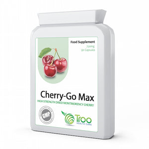 Cherry Go Montmorency Cherries 750mg 90 Capsules