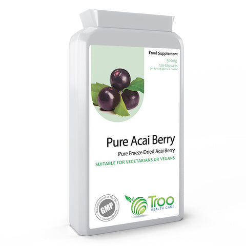 Acai Berry 500mg 120 Capsules
