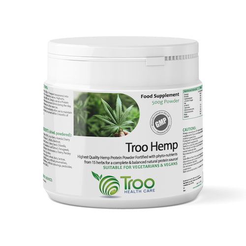 Troo-Hemp Hemp Protein Powder 500g Ⓥ