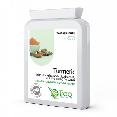 Turmeric 500mg with Black Pepper Extract 60 Capsules