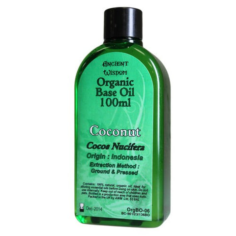 Organic Base Oil Coconut