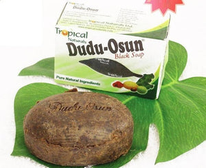 150g Tropical Brand Dudu-Osun African Natural Black Soap with Natural Ingredient Natural Black Soap