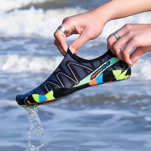 Unisex Sneakers Swimming Shoes Water Sports Breathable Surfing Slippers Upstream Light Athletic Footwear For Men Women