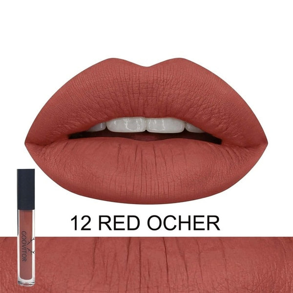New Long Lasting Matte liquid lipstick Vegan Lip Gloss Lapiz labial kyliejenner Beauty Makeup Fenty Cosmetics Maquiagem
