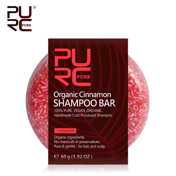 PURE Organic Shampoo Bar 100% PURE and No chemicals or preservatives Vegan handmade cold processed hair shampoo Soap Hair Care