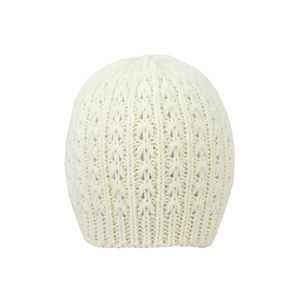 Winter white Beanie - Jendi