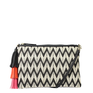 Tassel Clutch by JENDI