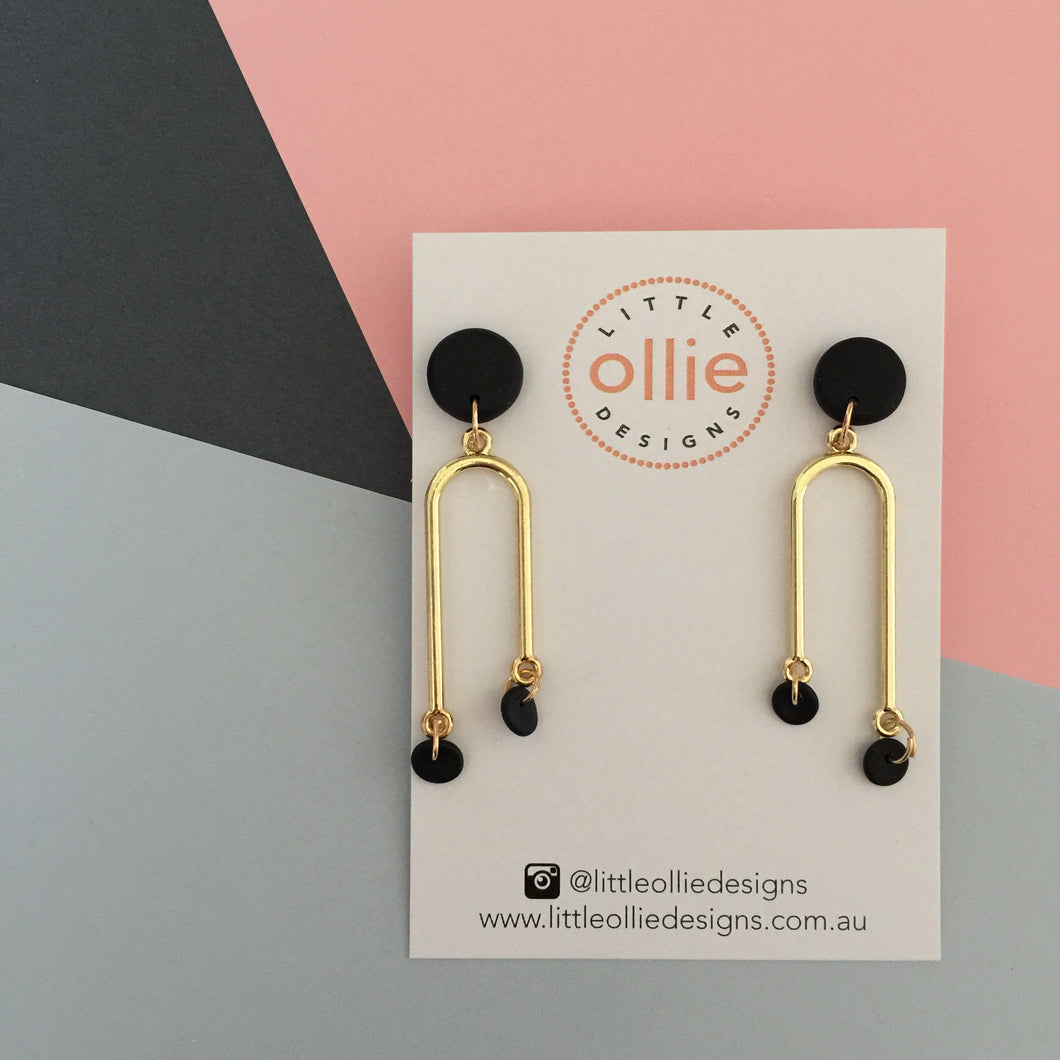 Willow Dangle Earrings - Little Ollie Designs