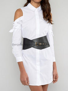Buckle Waist Belt by Angels Whisper