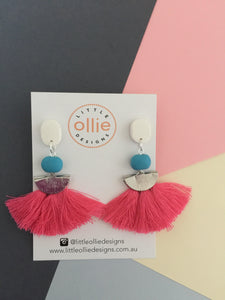 Frankie Dangle Earrings - Little Ollie Designs