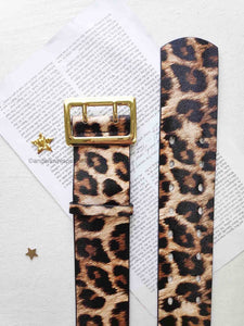 Marjorie Leopard Belt by Angels Whisper