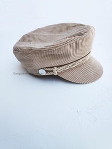 Beverly Corduroy Captain Cap by Angels Whisper
