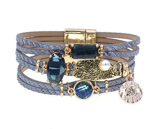 Alluring Blue Bracelet - PB Accessories