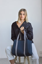 Dakota Charcoal Tote Bag by Neoprene Bags