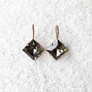 E Squared Earrings by BIDILIIA