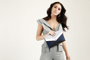 Felt Clutch by WILLOW BAY AUSTRALIA