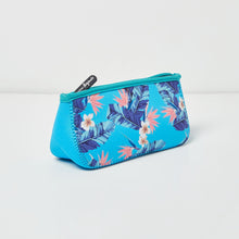 Goddess Beauty Makeup Bag - FLORAL/BLUE