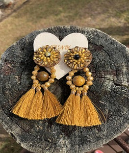 Hot Ginger Earrings - DNY Collectioms