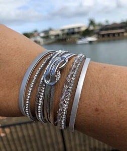 Infinity Silver Bracelet - PB Accessories