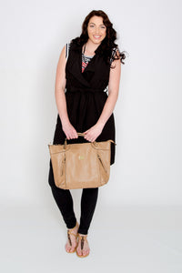The Perry Tote Bag - Sash & Belle