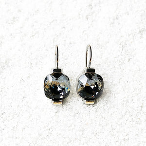 Crystal Night Earrings by Bidiliia