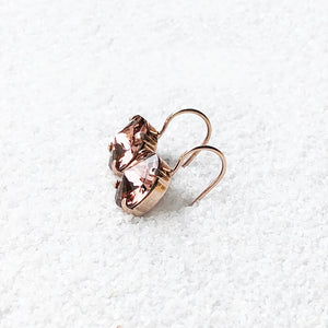 Mars Rover Crystal Earrings by Bidiliia