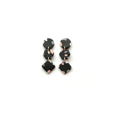 Trio Dangle Earrings by Florin & Grace