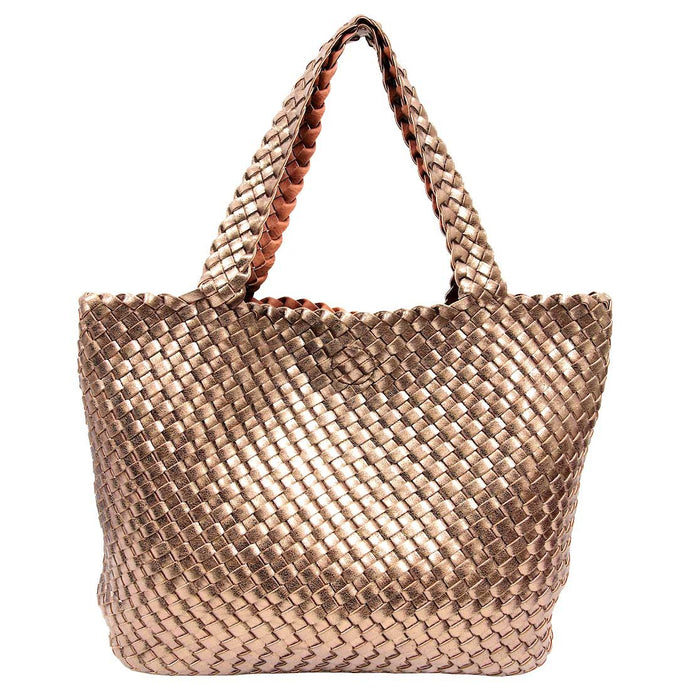 Tosca Woven Tote by Sassy Duck